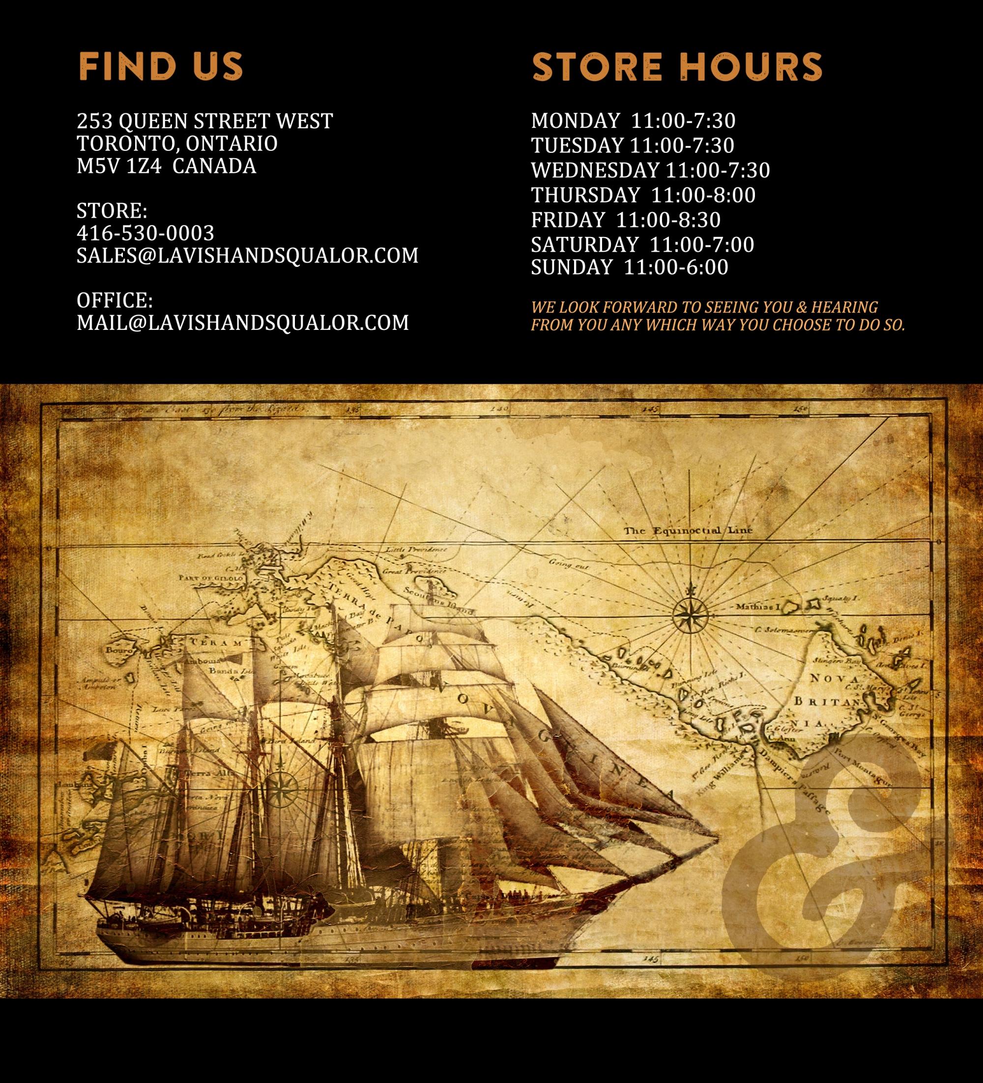 CONTACT US SHIP